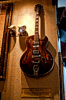 Bill Haley's Guitar in the Hardrock Downtown Sacramento