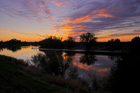 Sacramento River Sunset